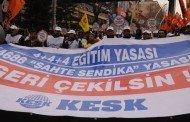 KESK 28-29 Ağustos Ankara Eylemi