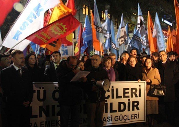 AKP'nin İLERİ DEMOKRASİSİ ODTÜ'de DEVAM EDİYOR