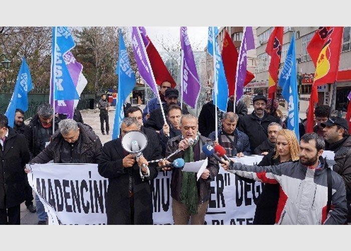"""MADENCİ ÖLÜMÜ """"KADER """" DEĞİL SERMAYENİN KAR HIRSIDIR!"""