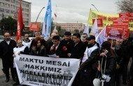 Ankara 1 Nolu Şube Meclis Önünde Halk İçin Bütçe İstedi