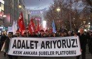 ANKARA'DAKİ YENİ TUTUKLAMALAR PROTESTO EDİLDİ