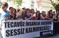 TECAVÜZ İNSANLIK SUÇUDUR, SESSİZ KALMAYACAĞIZ!