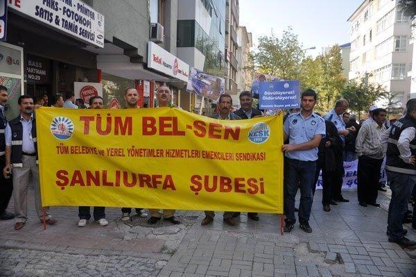 27 Eylül Zabıta İtfaiye Ankara Yürüyüşü