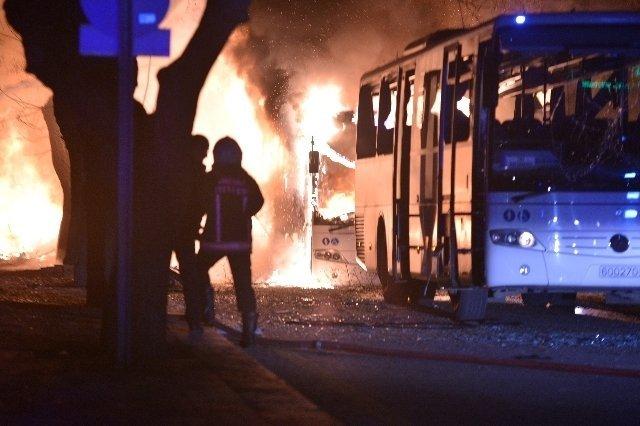 SON DAKİKA: Ankara'da Patlama