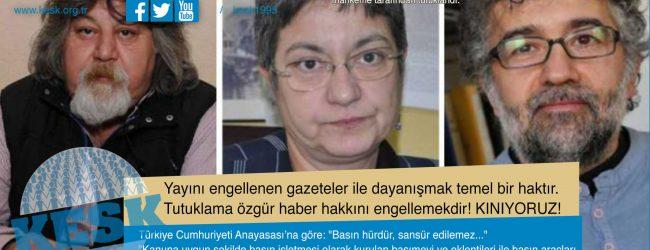 Şebnem Korur Fincancı, Ahmet Nesin, Erol Önderoğlu'nun Tutuklanmasını KINIYORUZ!