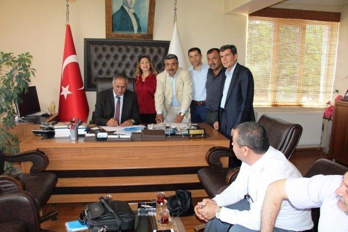 Sendikamız ile Nurhak Belediyesi Arasında Toplu İş Sözleşmesi İmzalandı