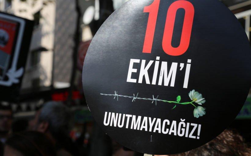 10 Ekim Katliamını Unutmadık! Unutturmayacağız! - KESK