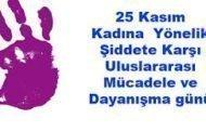 KIZ KARDEŞLERİMİZE 25 KASIM MEKTUBU...
