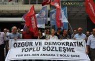 ÖZGÜR VE DEMOKRATİK TOPLU SÖZLEŞME İSTİYORUZ