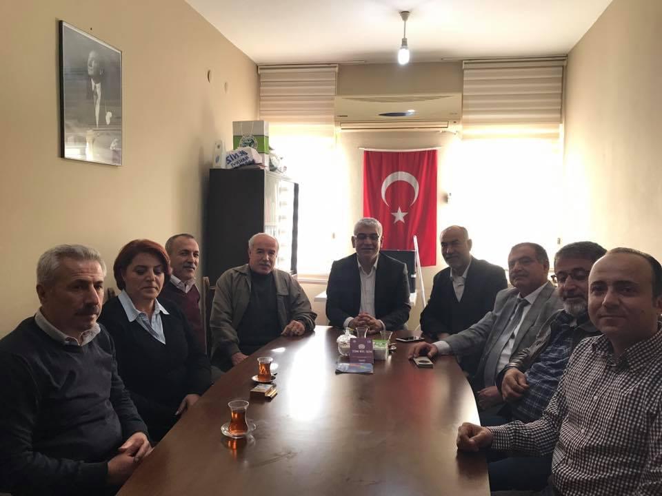 SENDİKAMIZ GENEL BAŞKANI ERDAL BOZKURT HATAY ŞUBEMİZİ ZİYARET ETTİ.