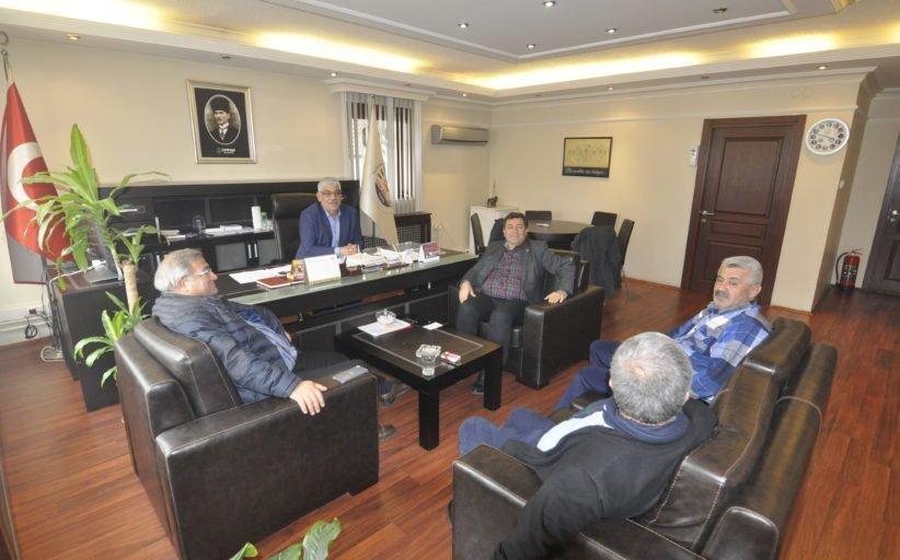 CHP MUĞLA İL BAŞKANI MÜRSEL ALBAN SENDİKAMIZI ZİYARET ETTİ