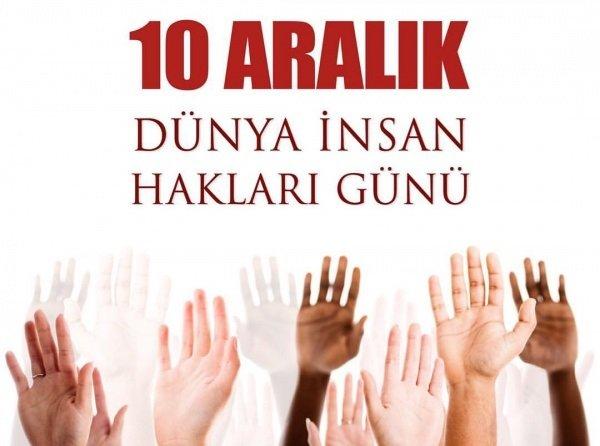 10 ARALIK İNSAN HAKLARI GÜNÜ