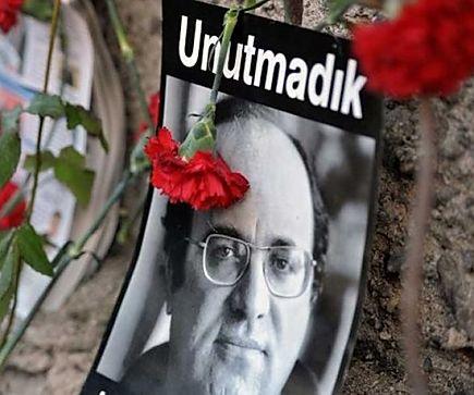 Katledilişinin 27. Yılında Uğur Mumcu'yu Saygıyla Anıyoruz!