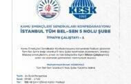 İstanbul 5 Nolu Şubemiz İtfaiye Çalıştayı Gerçekleştiriyor